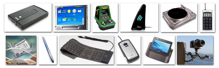 all the gadgets